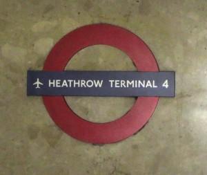 Heathrow Tube Stop